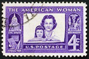 FNBR - American Women Postage Stamp (shutterstock_68177932)